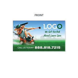 lawn care magnet funny