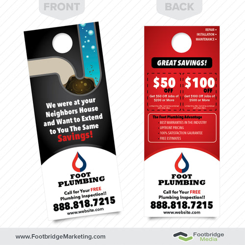 plumbing repairs door hanger design
