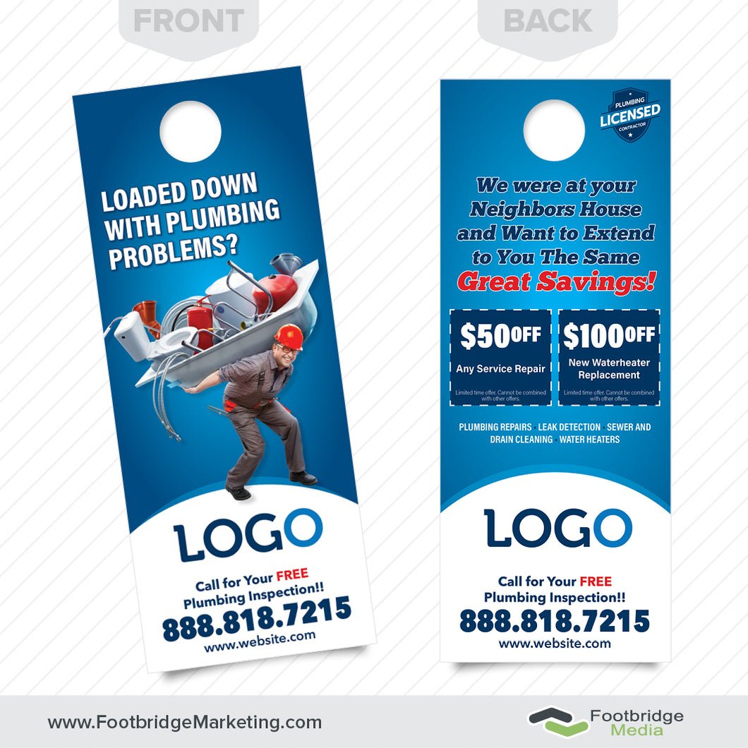 plumbing repair door hanger