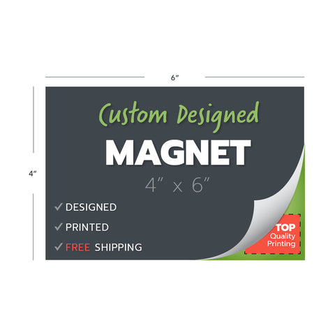 custom design print magnets