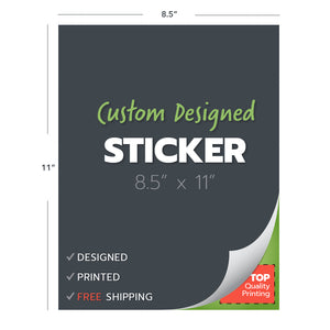 custom design print stickers