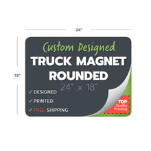 Load image into Gallery viewer, custom design print truck magnets