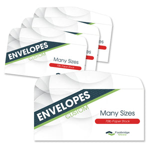 #10 envelope printing design services