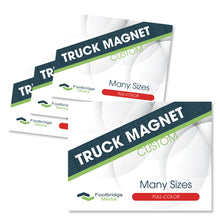 Load image into Gallery viewer, custom truck magnet printing