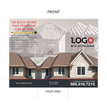 Load image into Gallery viewer, remodeling contractor brochure