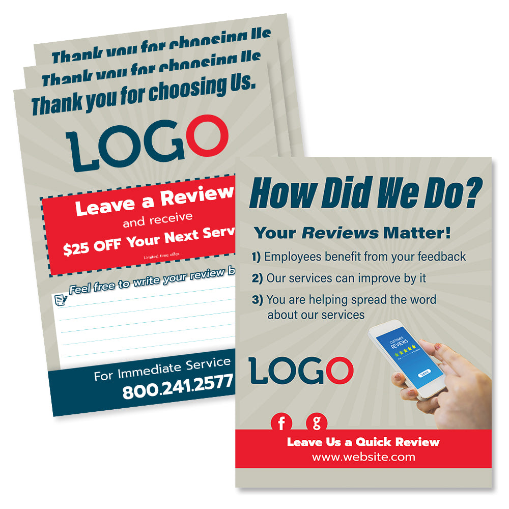 Review Flyer