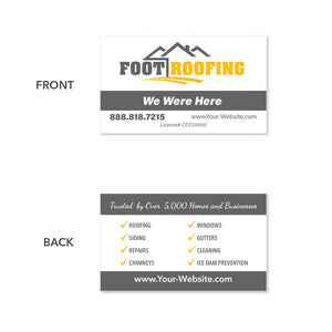 roofers business card