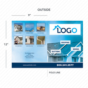 roofing presentation folder
