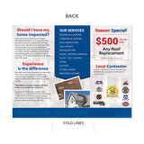 storm hail wind damage brochure