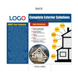 trifold brochure storm damage repairs