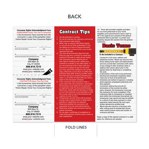 contractor contract tips brochure