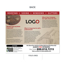Load image into Gallery viewer, roof damage brochure for roofers