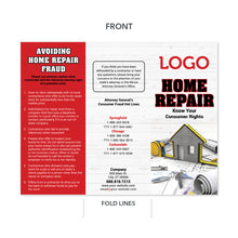 Load image into Gallery viewer, contractor home repair tips brochure