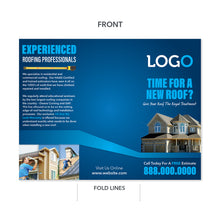 Load image into Gallery viewer, roofing contractor brochure