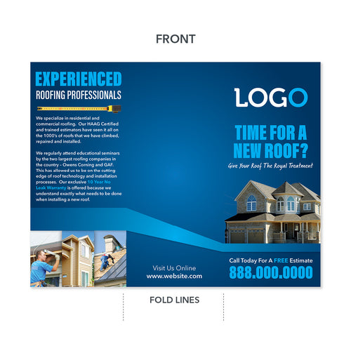 roofing contractor brochure