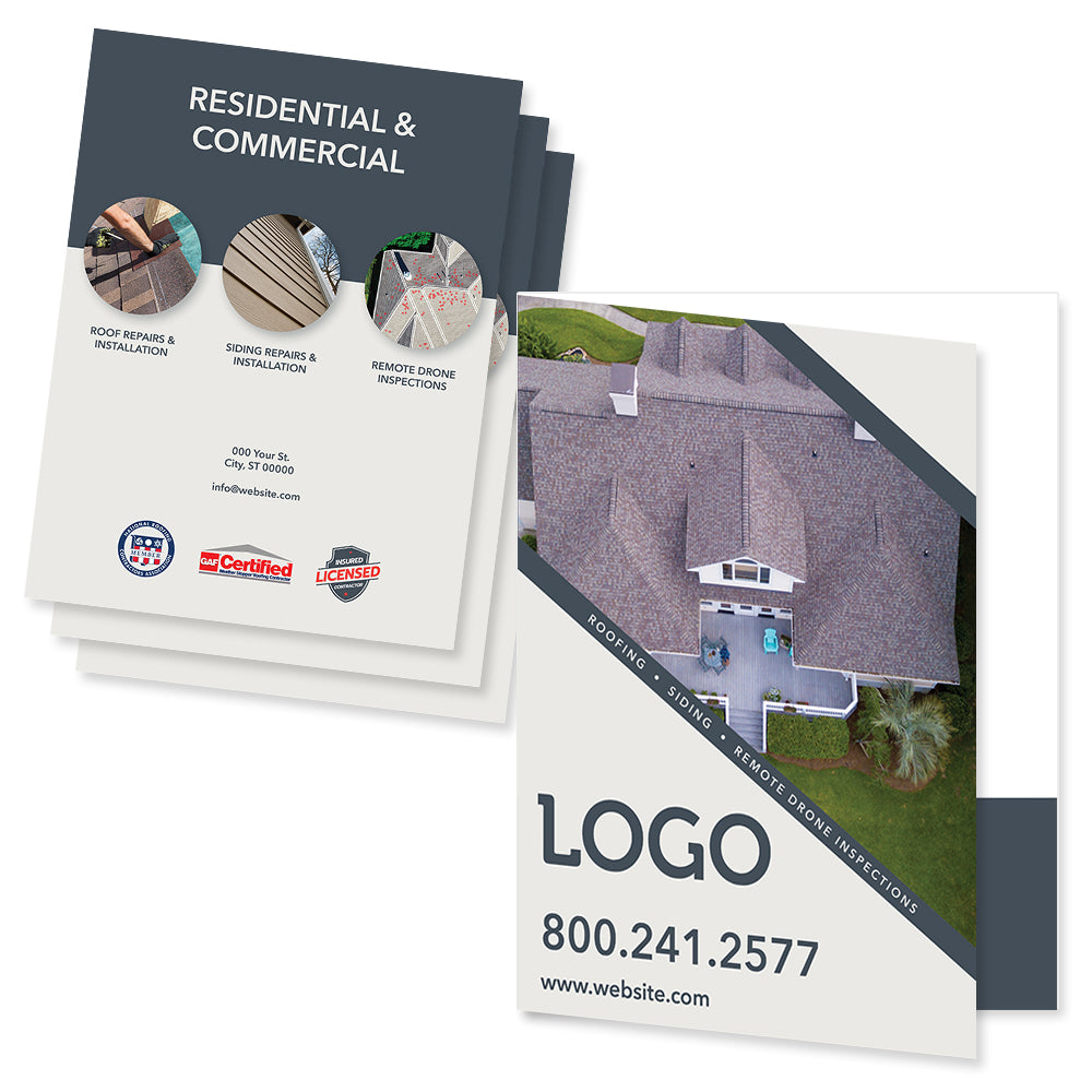 estimate folder for roofing contractors