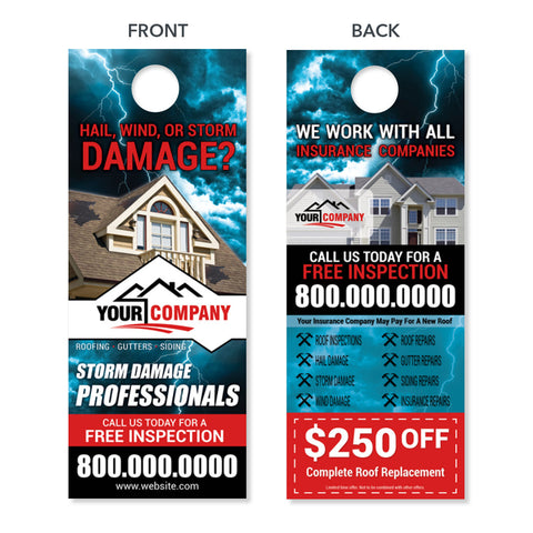 Design Sample Door Hangers  Footbridge Marketing