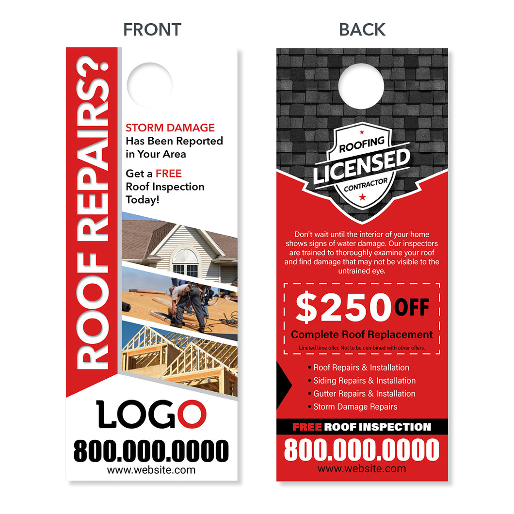 roof repair door hanger