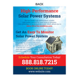 solar power flyer for electricians