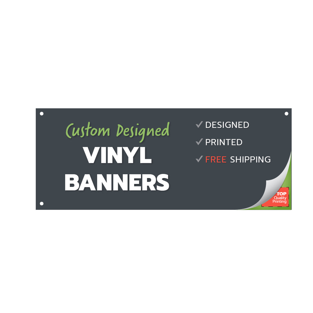 Vinyl Banners Indoor / Outdoor