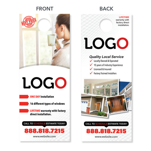window contractor door hanger design