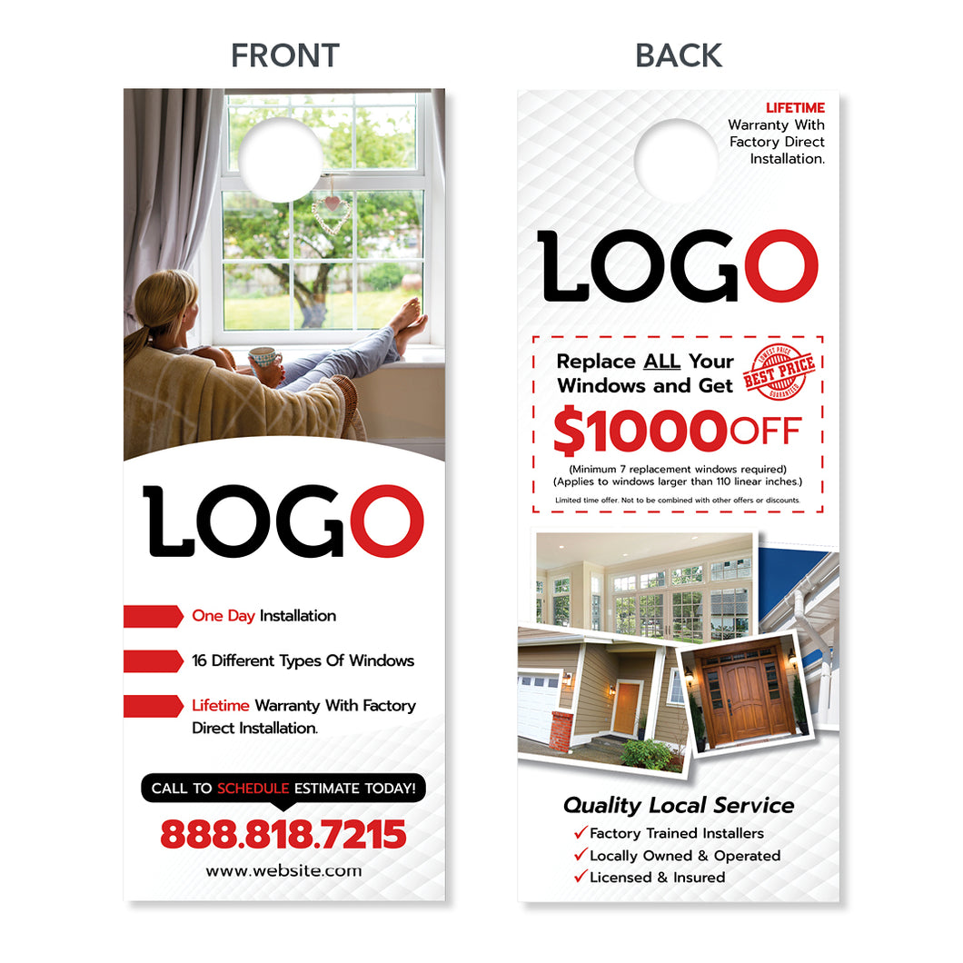 replacement window door hanger for contractors
