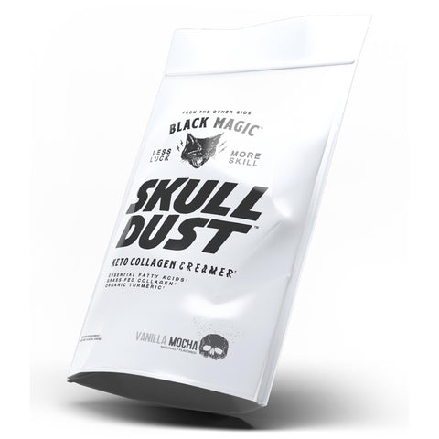 Image of SKULL DUST KETO COLLAGEN COFFEE CREAMER