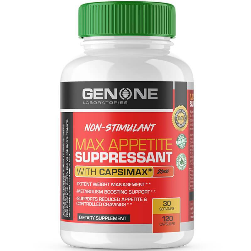 Max Appetite Suppressant- Appetite Suppression Formula For Men And Women