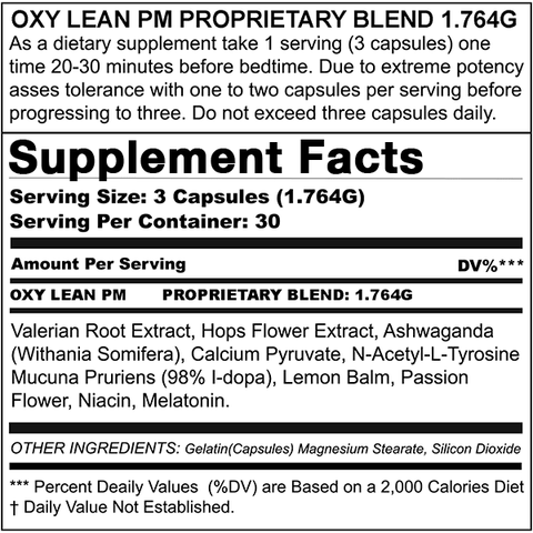 Image of MAX APPETITE SUPPRESSANT + OXY LEAN PM (BUNDLE DEAL)