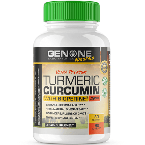 Gen One Nutrition- Ultra Premium Turmeric Curcumin - Inflammation Reducing Formula