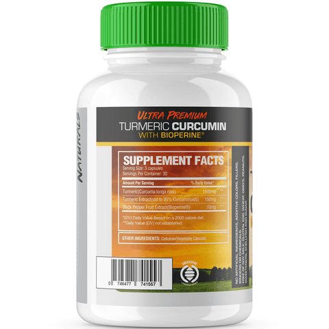 Image of ULTRA PREMIUM TURMERIC CURCUMIN (INFLAMMATION REDUCING FORMULA)