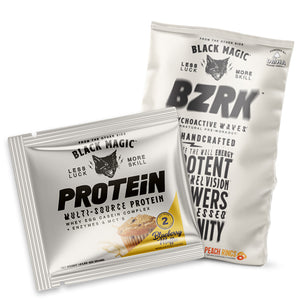 BZRK Pre-Workout + Multi-Source Protein Sample Kit (1 Each Flavor)