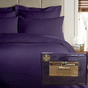 Organic Earth Bamboo Essence Sheet Sets in King and Queen Size Both in Stock