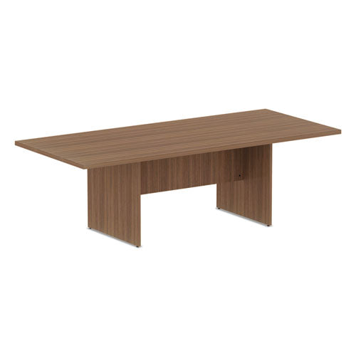 ALEVA719642WA Alera Valencia Series Conference Table, Rect, 94.5 x 41.38 x 29.5, Mod Walnut