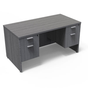 30x71 Kai Desk w/ Double Suspended Pedestals