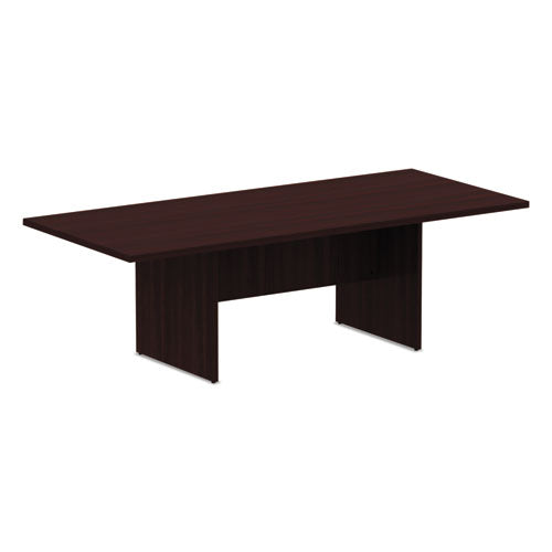 Alera Valencia Series Rectangular Conference Table,  94 1/2 x 41 3/8 x 29 1/2, Mahogany