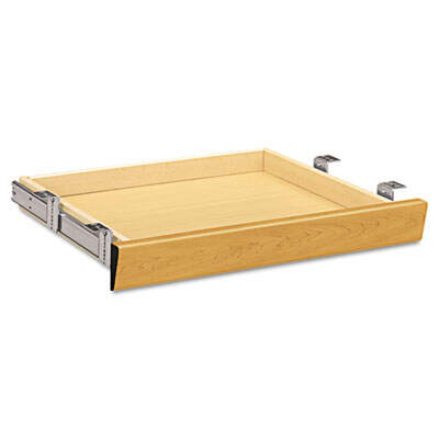 HON1522C HON Laminate Angled Center Drawer, 22w x 15.38d x 2.5h, Harvest