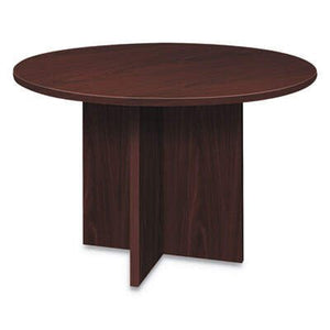 HONLMC48DN HON Foundation Round Conference Table, 47 Dia x 29 1/2h, Mahogany