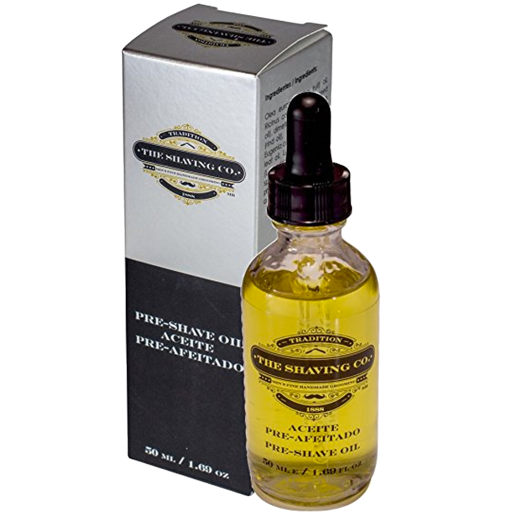 pre-shave, The Shaving Co., The Shaving Co. Original Pre-Shave Oil 2oz/60ml - The Shaving Co USA