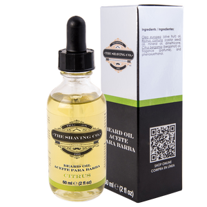 beard oil, The Shaving Co., The Shaving Co. Citrus Beard Oil 2oz/60ml - The Shaving Co USA