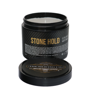 hair pomade, The Shaving Co., The Shaving Co. Stone Hold Hair Pomade 4oz/113.4gr - The Shaving Co USA