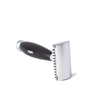 Safety Razor Closed Comb Black