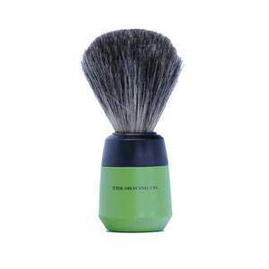Art Collection Shaving Brush- Pure Badger-Olive- 21mm