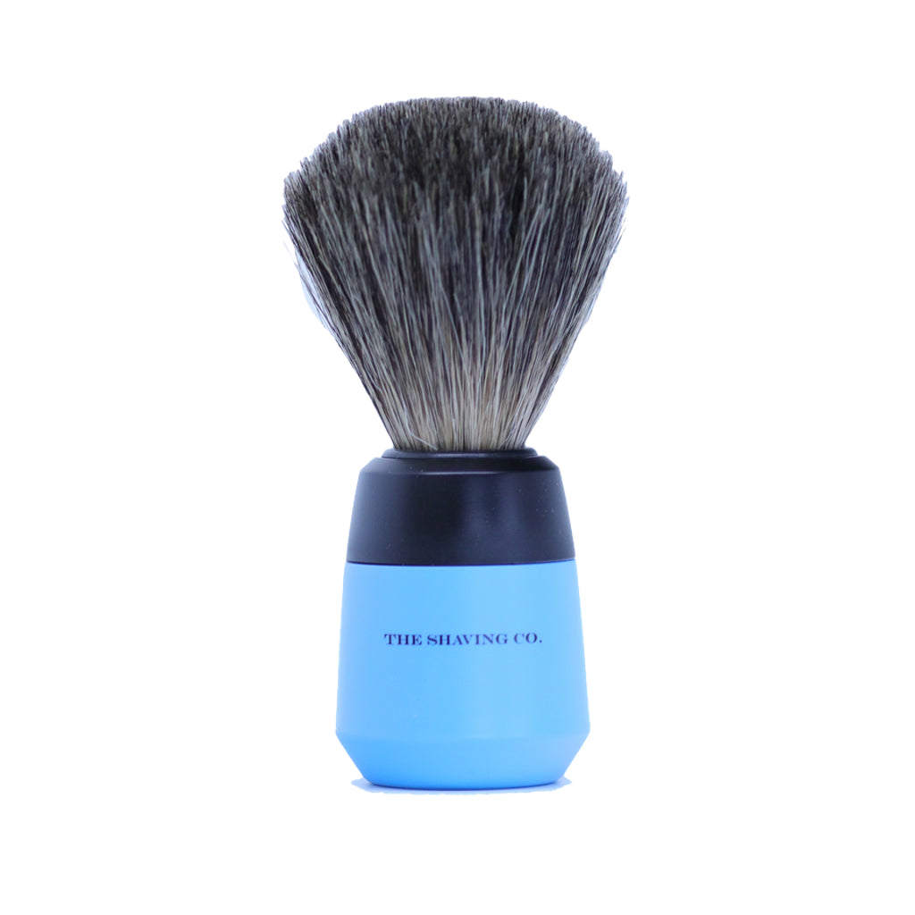 Art Collection Shaving Brush- Pure Badger-Blue- 21mm