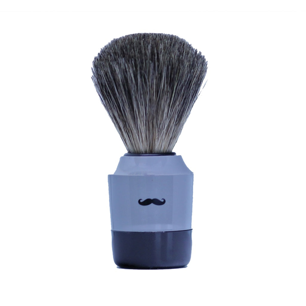 Art Collection Shaving Brush- Pure Badger-Grey- 21mm