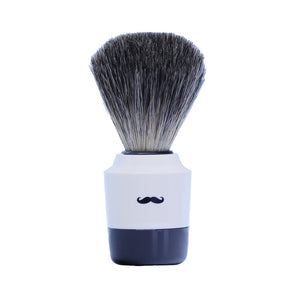 Art Collection Shaving Brush- Pure Badger-White- 21mm