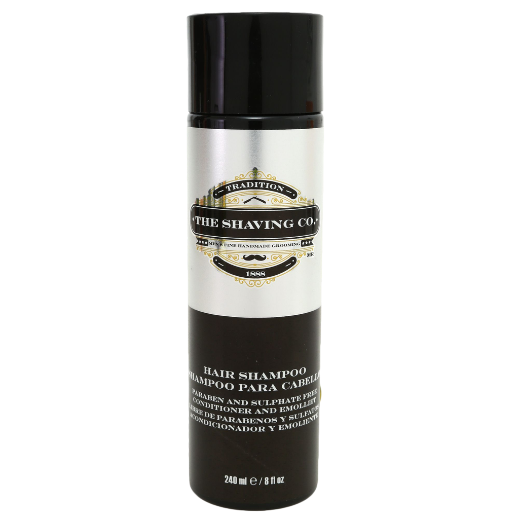 shampoo, The Shaving Co., The Shaving Co. Sandalwood Hair Shampoo 8oz/240ml - The Shaving Co USA