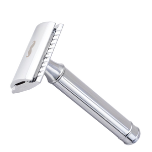 Safety Razor Closed Comb Chrome