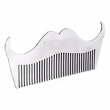 Stainless Steel Mustache Shaping & Comb - InTrendSting
