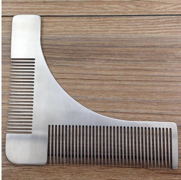 Stainless Steel Beard Shaping Modeling Tool Comb - InTrendSting